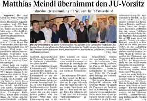 Deggendorfer Zeitung 13.01.2015