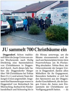 Deggendorfer Zeitung 14.01.2015