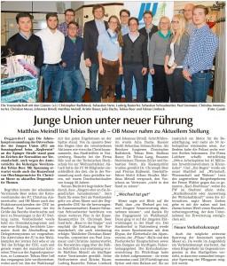 Donau Anzeiger 13.01.2015
